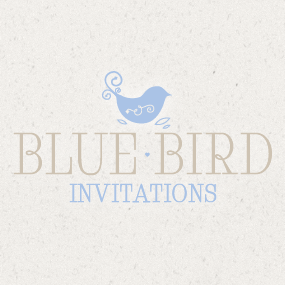 Blue Bird Invitations