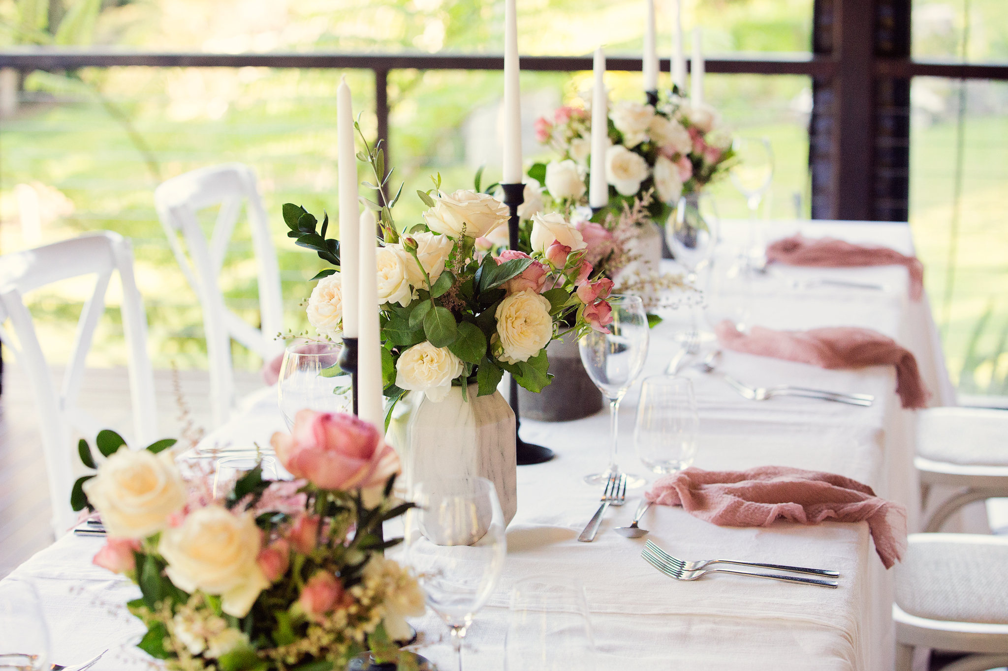 Stunning Table Arrangements