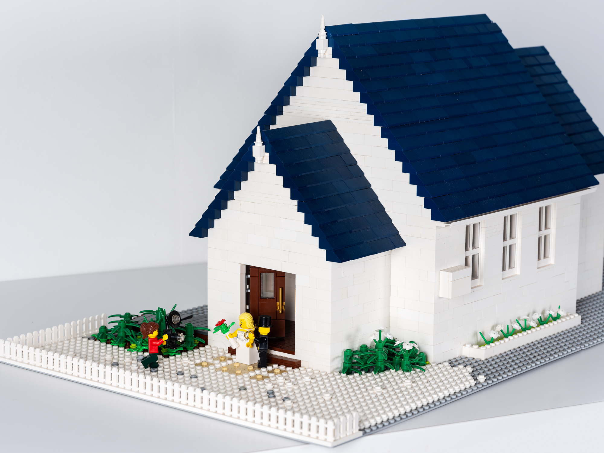 A Lego Love Story